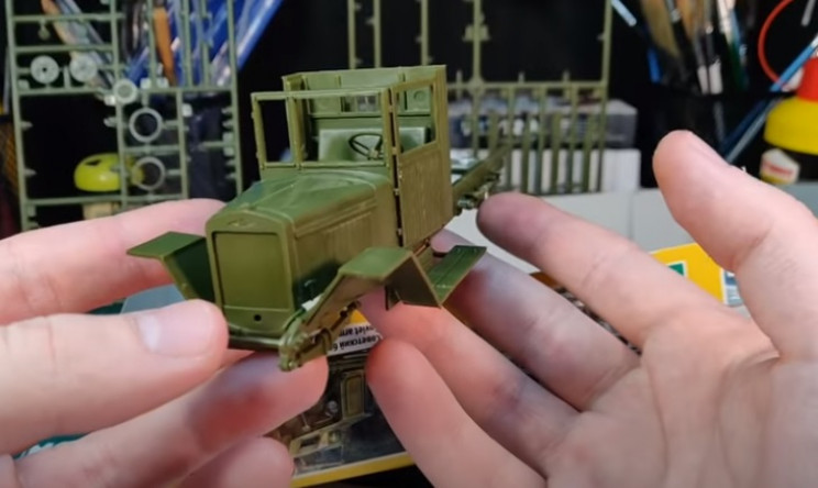 model truck complete assembly