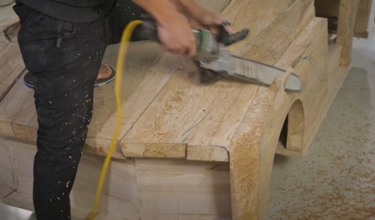 diy wood bugatti chainsaw