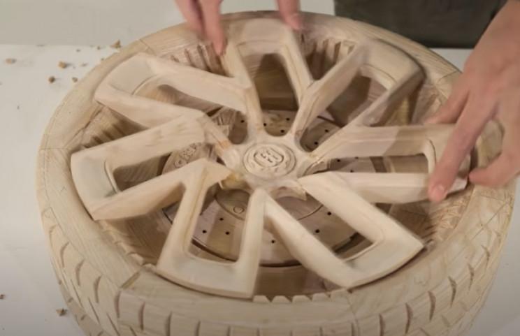 diy wooden bugatti complete wheels