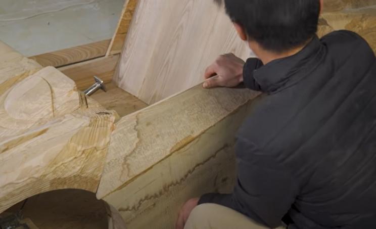 dou wooden bugatti doors