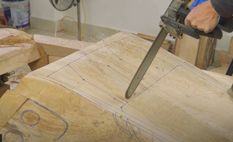 diy carved bugatti rear sections