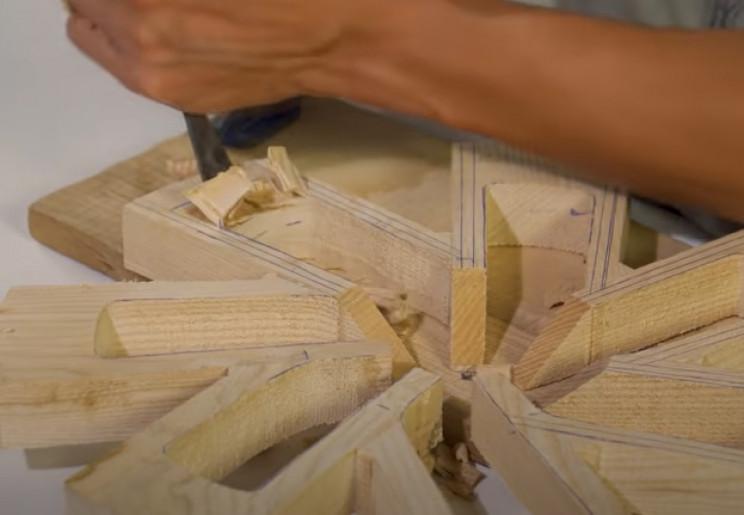 diy bugatti wood alloys