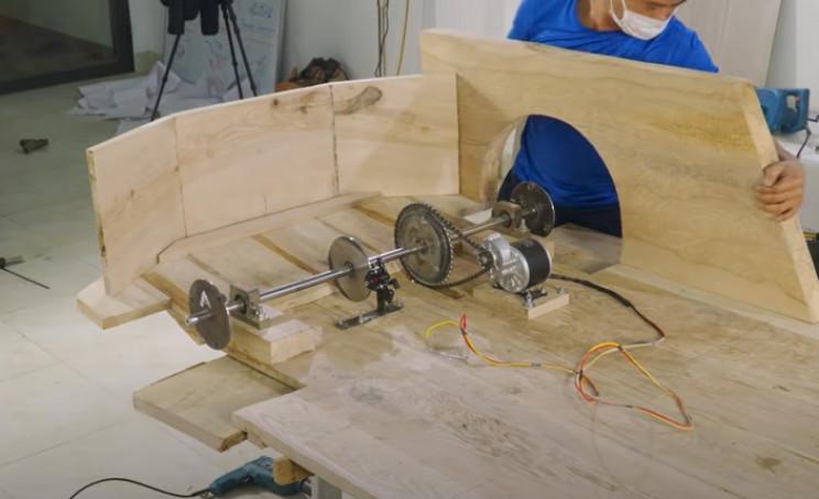 diy wood bugatti fenders