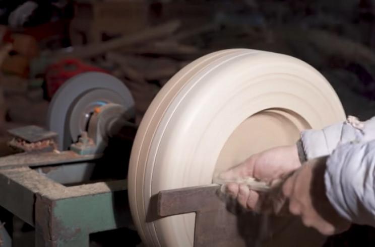 diy wood bugatti wheel tires