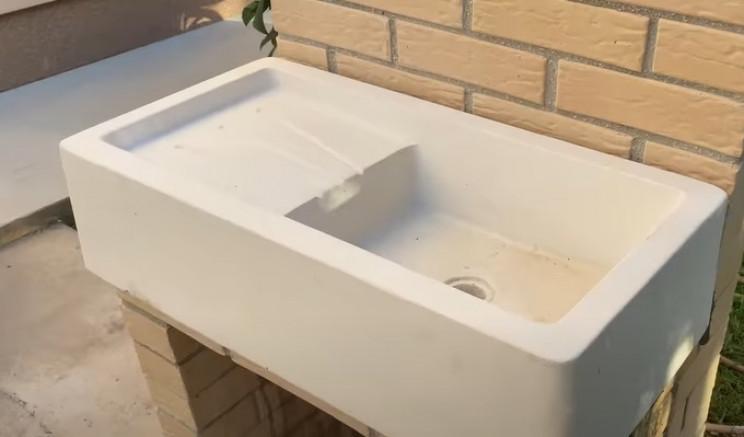 outdoor sink unit