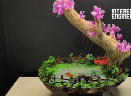 Make Your Own Bonsai-Tree Themed Desk Fountain With This Guide