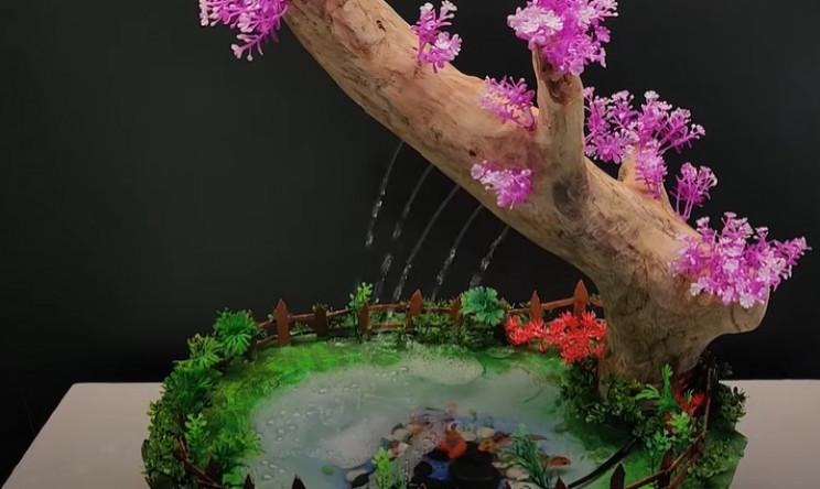 desk bonsai tree complete