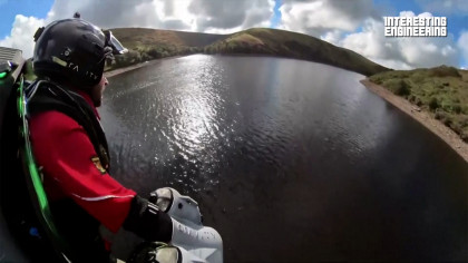 Jet Suit Gives Paramedics Super Human Abilities