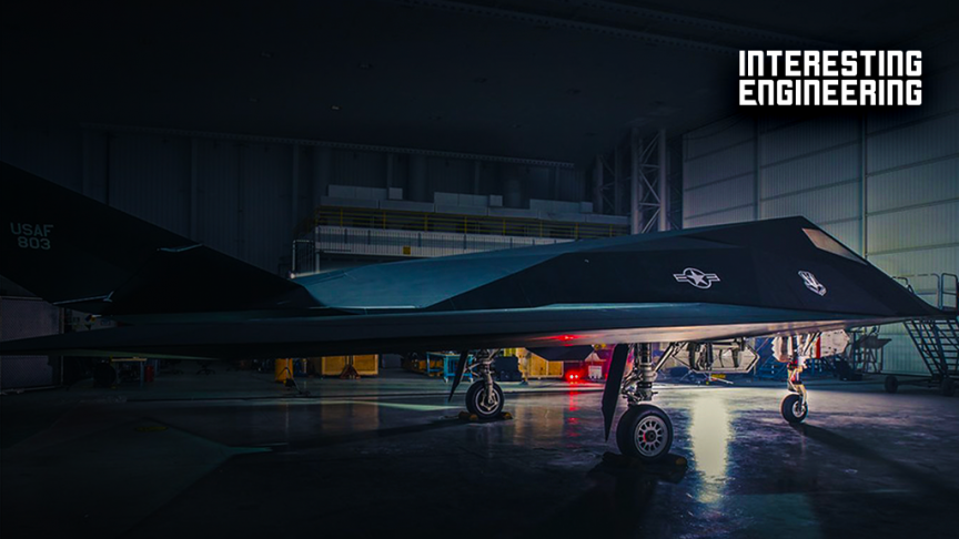 The First True Stealth Fighter Jet: the F-117 Nighthawk
