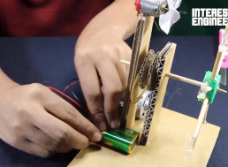 Making a DIY Cardboard Bubble Machine