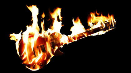 Junkyard Jam: Turn Your Rubbish into Rock-N-Roll with a Flamethrower Guitar
