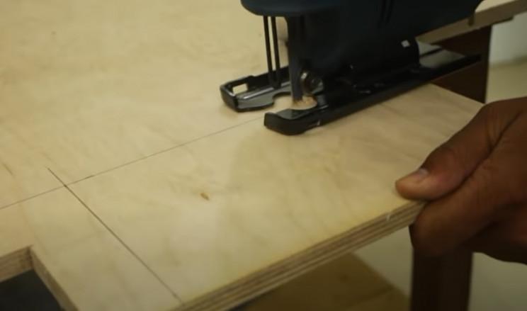 diy yarn ball winder cut wood