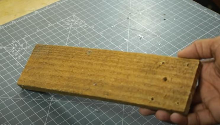 diy yarn winder 2nd wood
