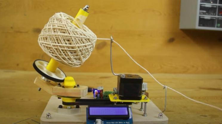 complete arduino yarn winder