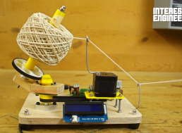 Building a DIY Arduino Yarn Ball Winding Machine