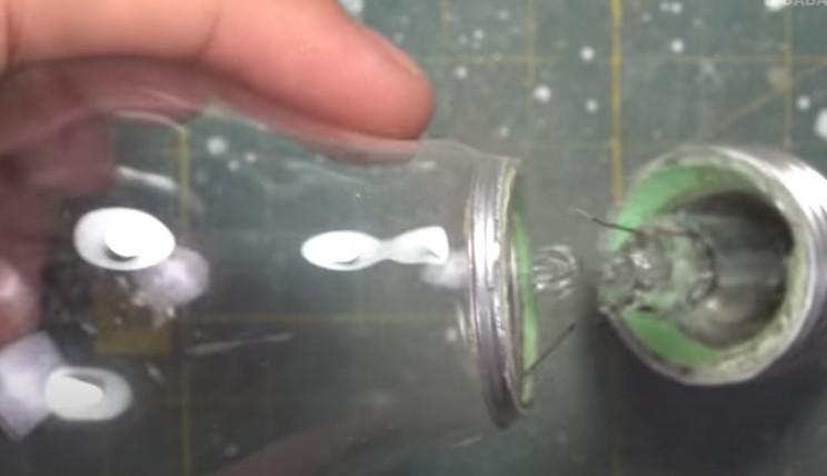 diy fisherman diorama cut off base