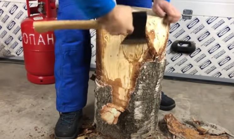 diy anvil restore wood