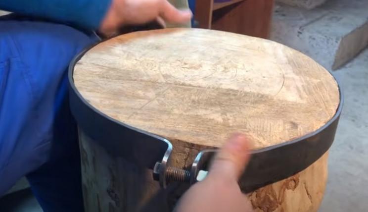 diy anvil restore metal bar