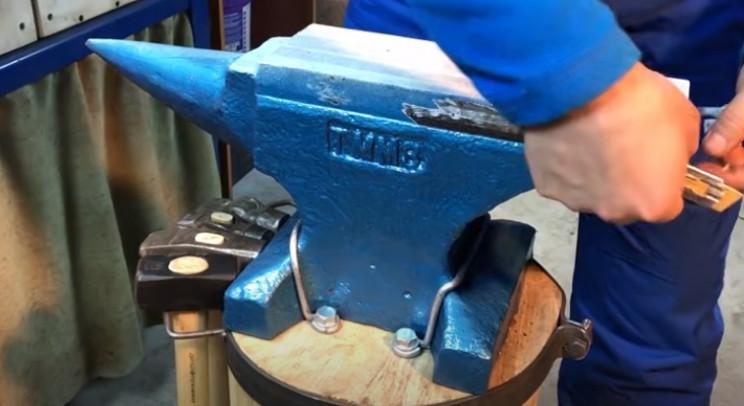 diy anvil restore remove tape