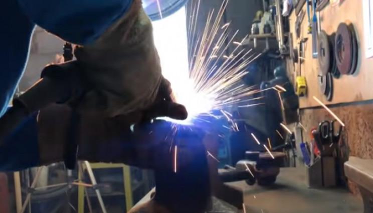 diy anvil weld
