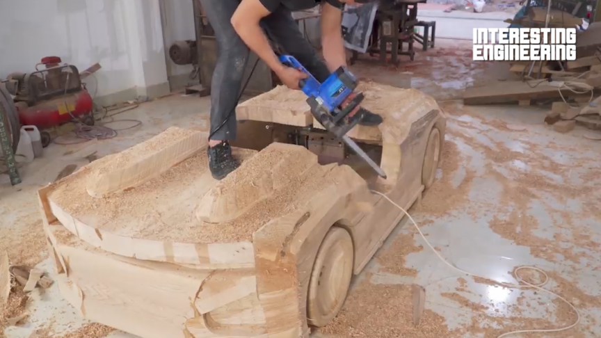How to Make Your Own Wooden BMW 328 Hommage