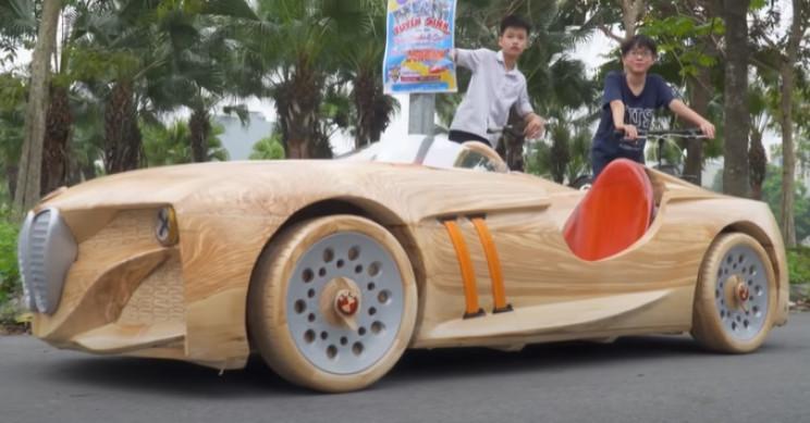 diy wooden bmw 328 complete