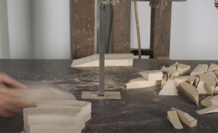 diy wooden model bmw 328 curved traps