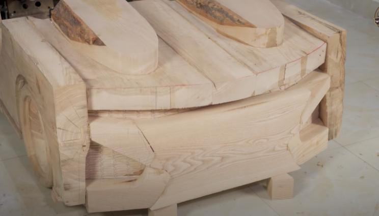 diy wooden bmw 328 top