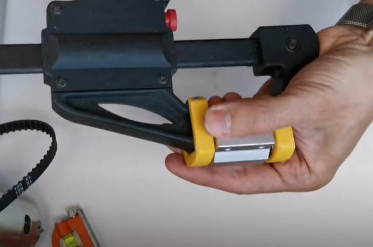 diy miter saw motion bearing