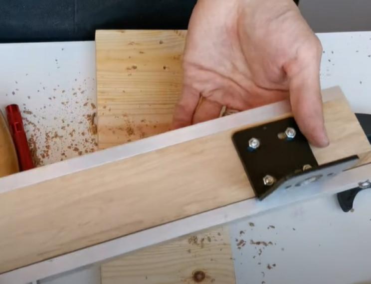 diy miter saw motor mount handle