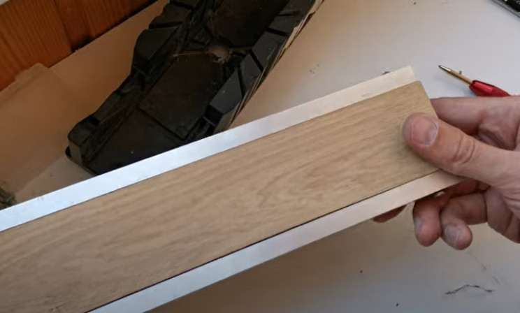 diy miter saw handle metal sidings