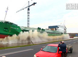 Exhilarating, Turbulent, and Scary Ship Launches