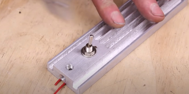 DIY LED light switch