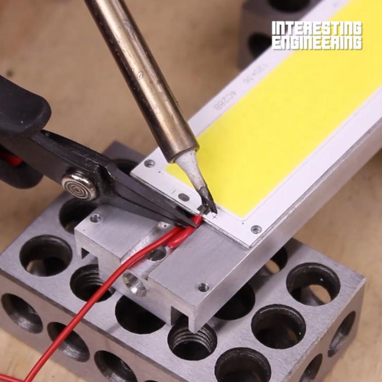 DIY LED worklight