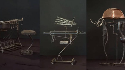 Punk Rocker Invents 250 Strange but Whimsical Musical Instruments