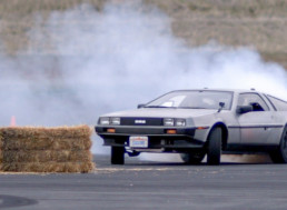Stanford Engineers Get Driverless DeLorean to Drift Like a Human Driver