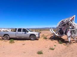 Human-Controlled 8,000-Pound Exoskeleton Put to Off-Road Desert Testing