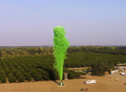 A NASA Veteran Built the World's Largest Volcano Replica. From Elephant Toothpaste?