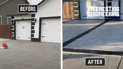 Pimp up Your Old Driveway With This Awesome Surface Coating