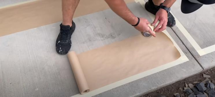 pimp driveway paper border