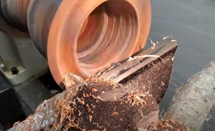 diy driftwood hollow by hand