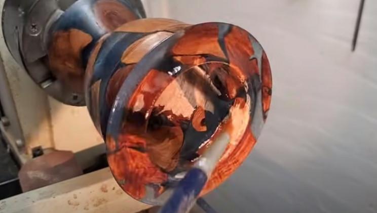 diy vase polish inside