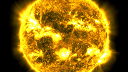 NASA Fits 10-Year Time Lapse of Sun Into 61 Fiery Minutes