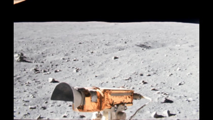 Upscaled Footage of Apollo 16 Provides Immersive Lunar-Trip Experience