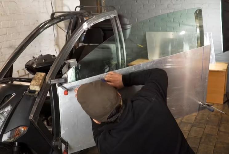 future scooter door panels