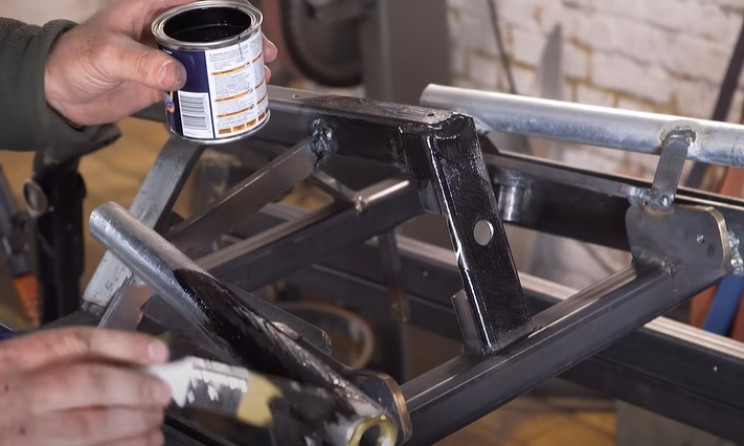 future scooter paint frame