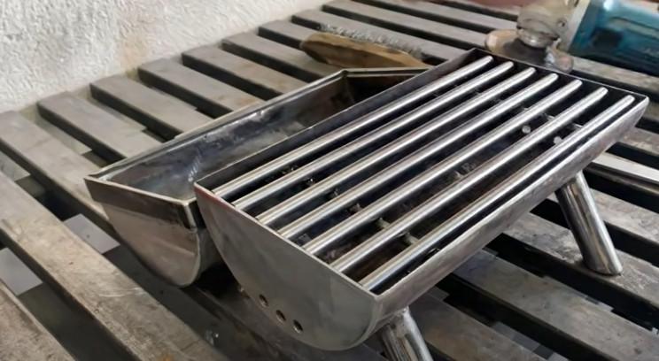 diy outdoor grill almost ocmplete
