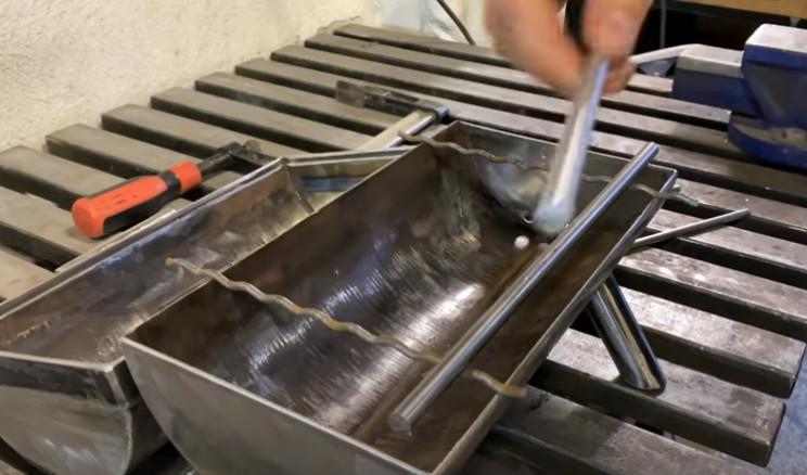 diy outdoor grill bars