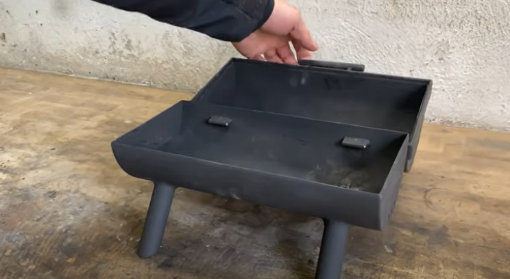 dyiy outdoor grill paint