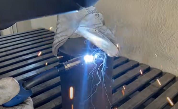 diy outdoor grill weld